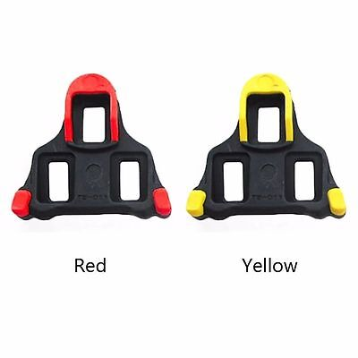 2 Pair cleat set(red+yellow) for SHIMANO SH11 SPD-SL
