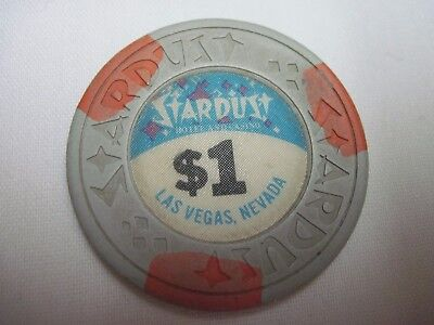 Vintage STARDUST Las Vegas Casino Chip $1 (One Dollar)