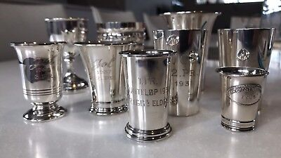 Norwegian Antique Silver Cups 830s