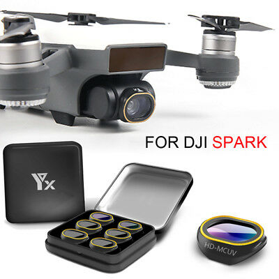 For DJI SPARK Drone HD-MCUV/CPL/STAR/ND4/ND8/ND16/ND32 Lens Filter Gimbal Camera