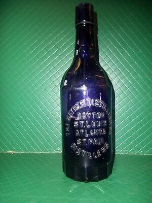 Vintage Amathyst Bottle