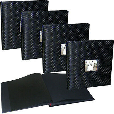 4x Black Diamond wedding drymount photo albums * FOUR PACK