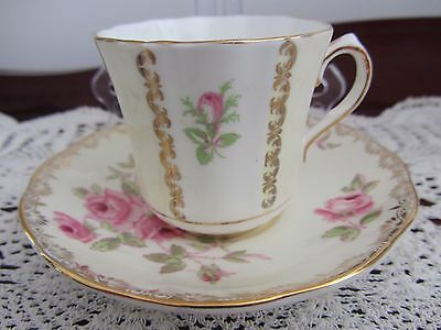 Mixed - Roses - ''salisbury & Old Royal'' - Coffee / Demitasse Cup / Saucer Duo