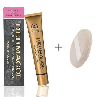 New Dermacol High Cover Make Up Foundation Legendary Film Studio Hypoallergenic