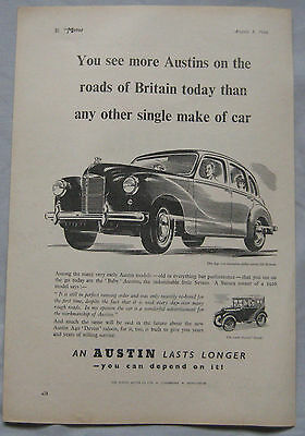 1949 Austin Original advert No.2