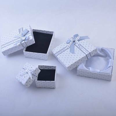 12pcs Dot Jewellery Gift Boxes Necklace Earring Ring Bracelet Jewellery Packing