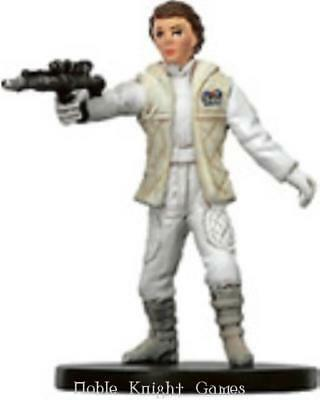 WOTC Star Wars Minis Bounty Hunter Princess Leia - Hoth Commander NM