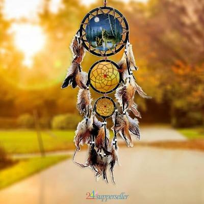 Native American Style Handmade Dream Catcher Wall Hanging Decoration Ornament CA