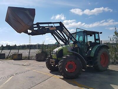 2007 Claas 446Rx Tractor With Loader Low Hours!! Farming Tractors Loading Shovel