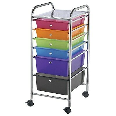 Double Storage Craft Cart