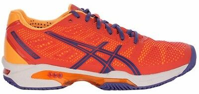 Womens Girls asics Gel Solution Speed 2 Clay Tennis Court Shoes Trainers Size 3