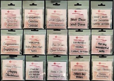 Woodware Singles Clear Stamps many to choose from. REDUCED TO CLEAR!