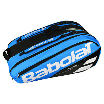 Babolat Racket Holder X 12 Pure Drive 12 Rackets Blue   Black   White