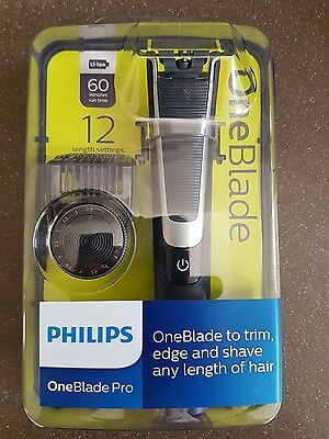 Philips OneBlade PRO QP6510/25 -60 minutes run time /New**