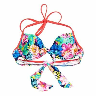 Superdry Tropic Jungle Cup Bikini Top Ropa interior
