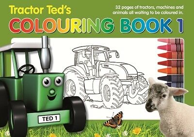 Tractor Ted Colouring Book *OFFICIAL* - Direct from Tractor Ted Warehouse