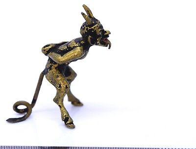 Fantastic Small Bergmann  Vienna Cold Painted Bronze Devil, Satan, Satyr