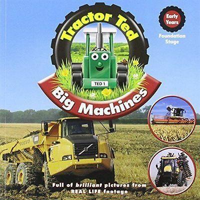 Tractor Ted Big Machines Book *OFFICIAL* - Direct from Tractor Ted Warehouse