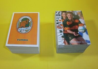 2 complete sets of Futera Australian Rugby Union trading card sets - 1995 & 1996