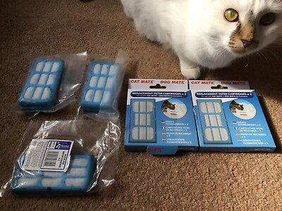 Cat Mate Water Fountain Filter Replacements x9