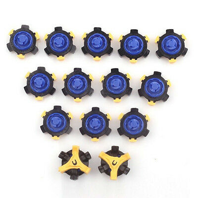 14Pcs/Set Flexible Golf Shoe Spikes Studs Replacement Champ Cleat Fast Twist Hot