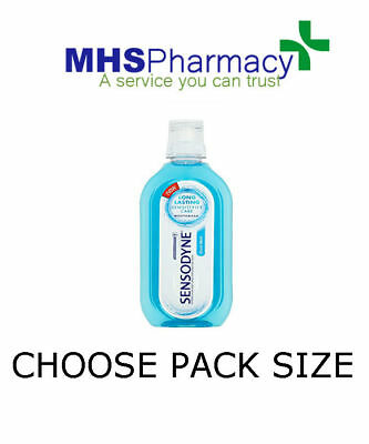 Sensodyne Mouthwash Cool Mint 500ml Alcohol Free