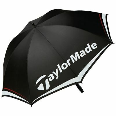 "Taylormade 2017 Tm 60"" Lightweight Single Canopy Mens Golf Umbrella"