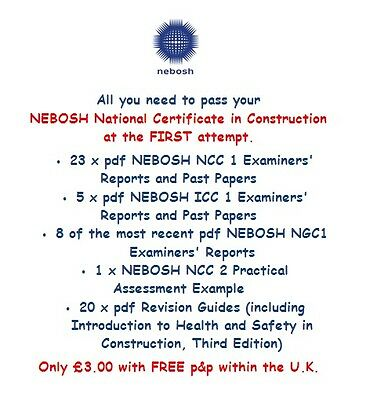 NEBOSH Diploma Examiners Reports PDF - NEBOSH Past Papers