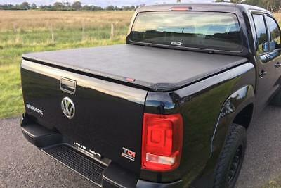 VW Amarok Soft Roll Up Tonneau Cover - Eagle1 Soft Roll and Lock Bed Cover