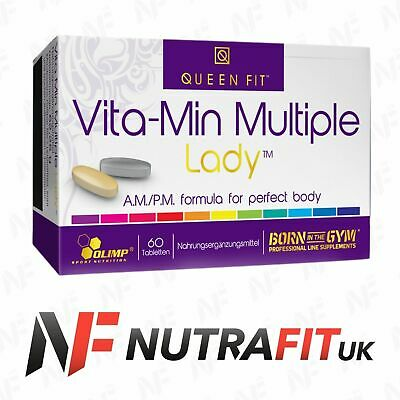 OLIMP QUEEN FIT VITA-MIN MULTIPLE LADY AM/PM 60 tabs vitamins minerals women