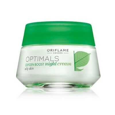Oriflame Optimals Oxygen Boost Night Cream Oily Skin