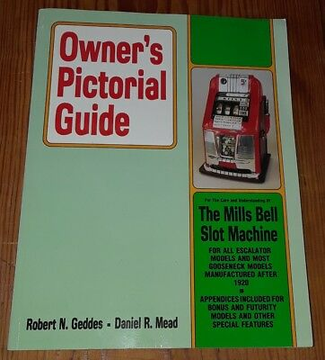 OWNER'S MANUAL GUIDE MILLS NOVELTY GOOSE NECK to HI TOP etc SLOT MACHINE last1!