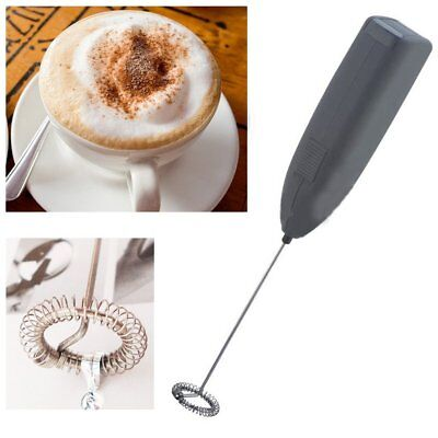 NEW IKEA Coffee, Egg, Milk, Frother Foamer Whip Latte Black Cordless Mixer