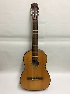 VINTAGE OSCAR TELLER Spanish Style Classical Guitar Model 4 Built in Germany1971