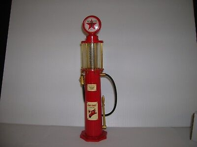 "Gearbox Collectibles  "" Texaco Gas Pump"" 12"" high used no box lot # 12147"