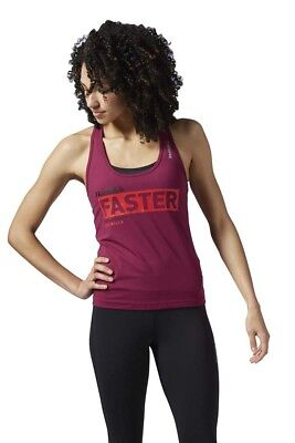 Reebok Les Mills Fitted Racerback Tank Tops