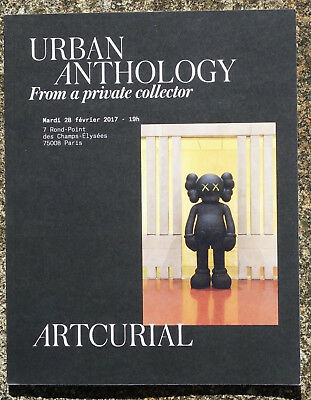 URBAN ANTHOLOGY, Streetart,Private Coll, ARTCURIAL 28.2.2017,sehr inter. TEXTE!