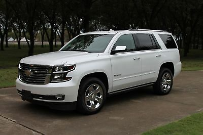 2017 Chevrolet Tahoe LTZ Premier 4WD One Owner Perfect Carfax Nav 20's Heated and Cooled Seats TV/DVD MSRP New $73660