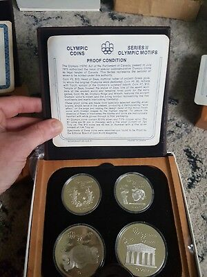 1976 Montreal Olympic Series 2 Coin Set Mint Condition