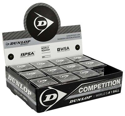Dunlop Competition 12 Ball 12 Units Black