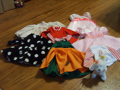 Lot of Madame Alexander Doll Clthes