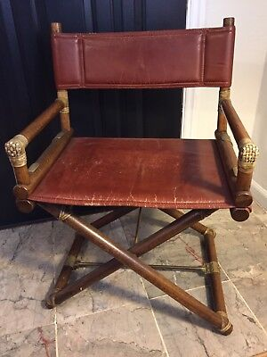 Vintage McGuire San Francisco Furniture Directors Chair