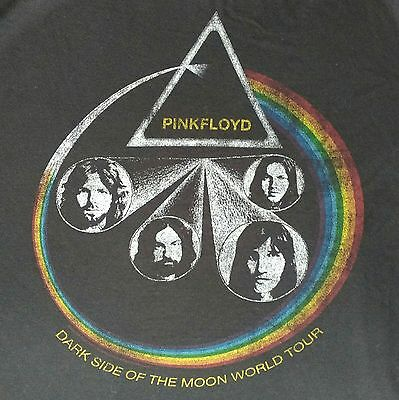 Pink Floyd XL Band Tee Dark Side Of The Moon World Tour Shirt 2011 Music Concert