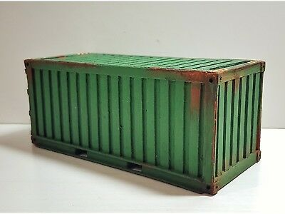 DIORAMA CHINA CONTAINER SHIPPING 20 ft. in legno Modellino