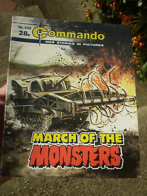 1974 - Commando War Stories No 2160 -  March Of The Monsters