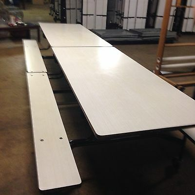 Cafeteria/Picnic Folding Table w/ Benches (Over 50 Available)