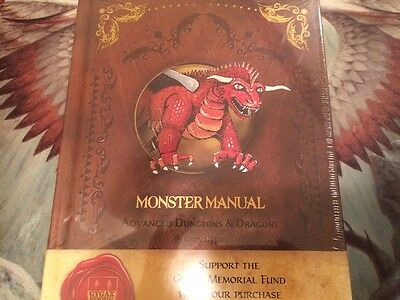 Monster Manual, Dungeons and Dragons, Limited Edition Premium Covered