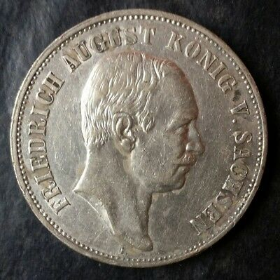1907 Germany 5 Mark Silver Coin