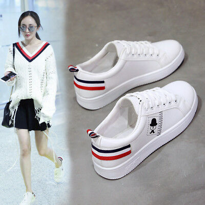 autumn The new Women's shoes sport small white shoes Running shoes Casual shoes