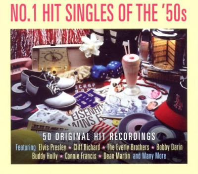 Various Artists-No. 1 Hit Singles of the '50s  (UK IMPORT)  CD NEW